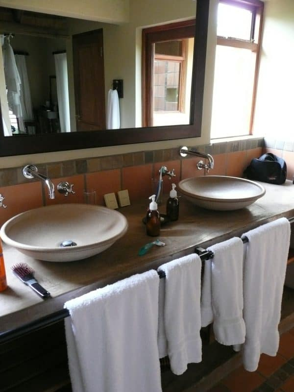 Fijne badkamer