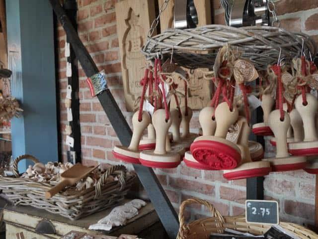 In het bakkerijmuseum.