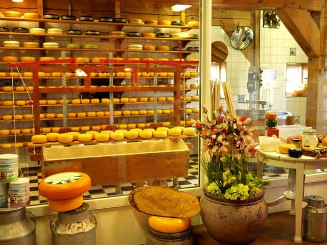 Het mini kaasmuseum