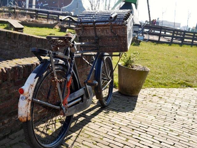 Ik vond weer eens een fiets...