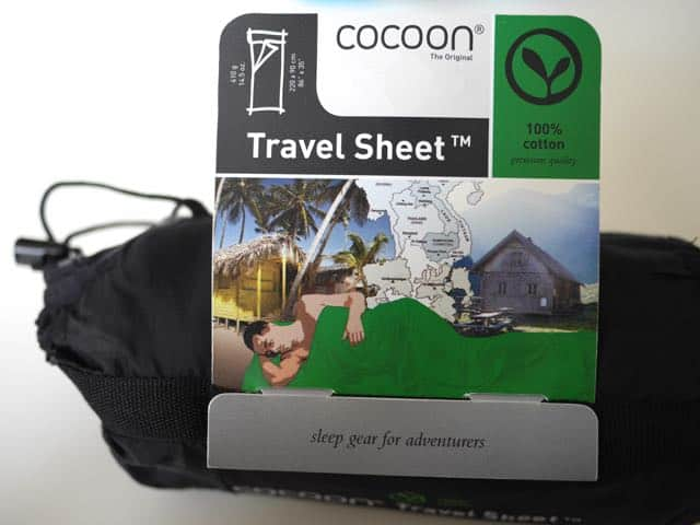 Cocoon Travel Sheet