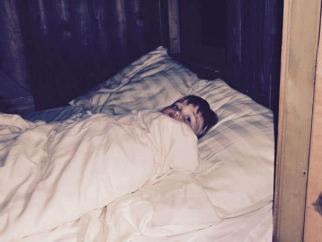 Slapen in de bedstee