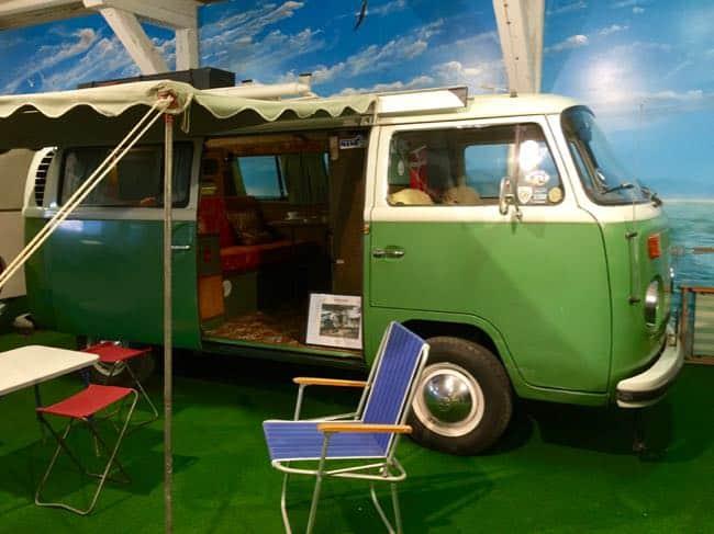 Leuk hippie-busje. Ik hou er van...