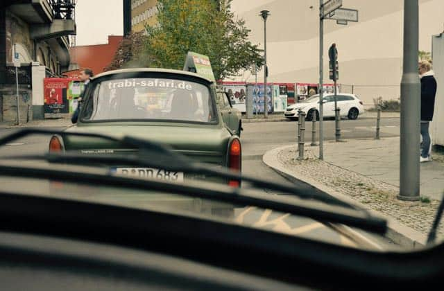 Met een trabant door berlijn
