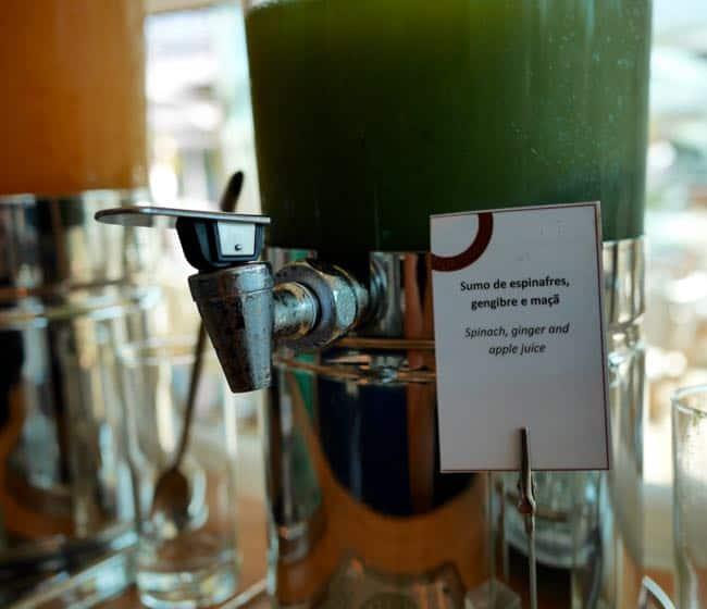 Gelukkig, er is ook spinazie sap. *gniffel*