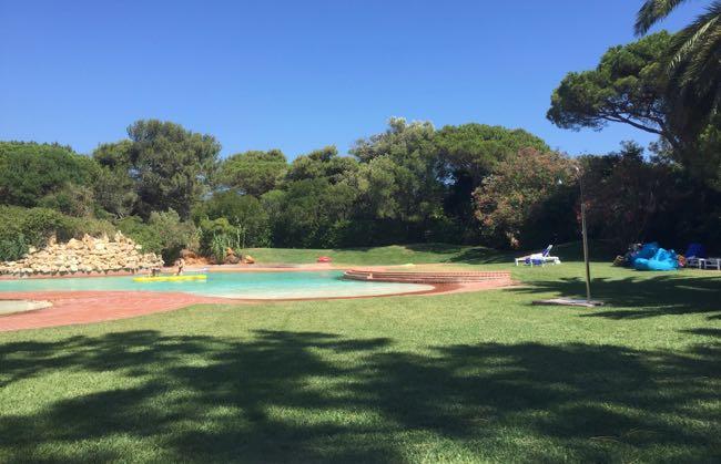 De heerlijke hangout pool