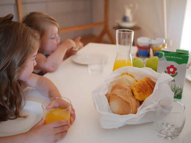 TIP: vraag gewoon aan de eigenaresse of je ander brood mag