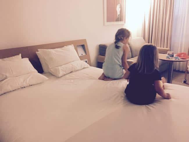 'Oh! Wat een mooie kamer, mama!'