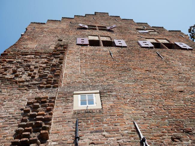 Typische muurhuizen
