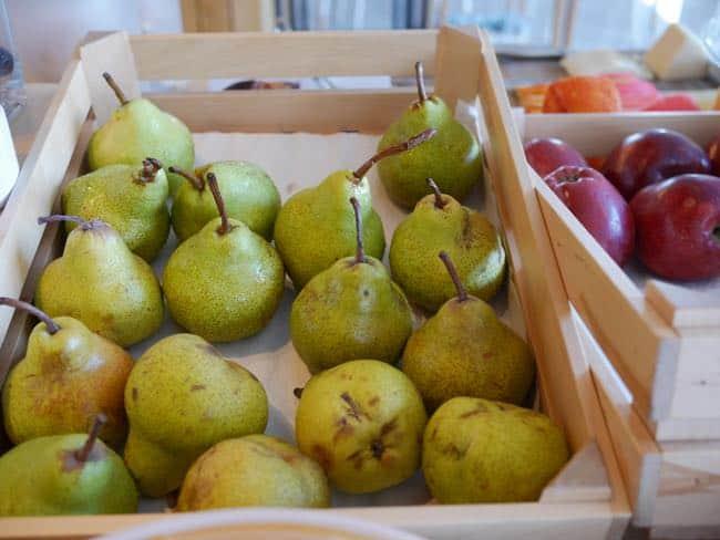 Veel vers fruit!