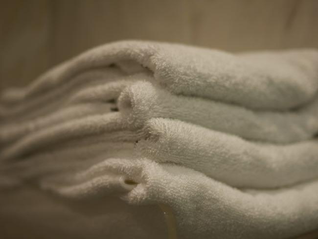 Genoeg handdoeken