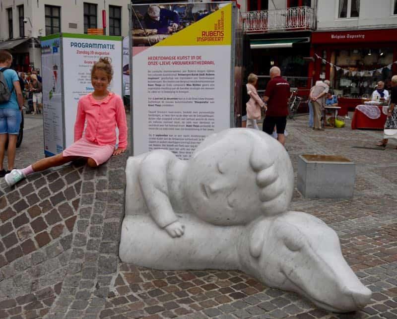 speurtocht door Antwerpen