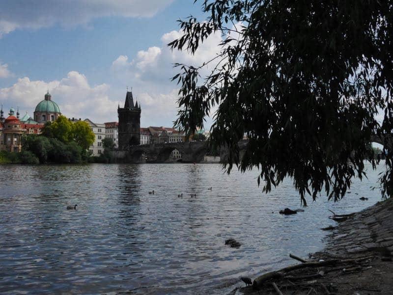 fietsen in Praag